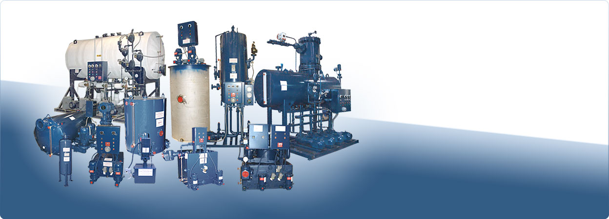 The most complete line of HVAC boiler room and condensate return pumping equipment.