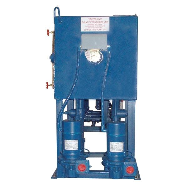Type des condensate return pumps shipco