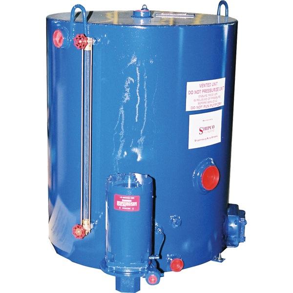 Type emv boiler feed pumps surge tanks shipco